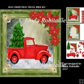 Red Christmas Truck Mini Kit