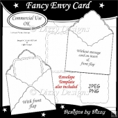 Fancy Envy Card Template