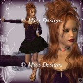 Gothic Dreams Poser Graphics
