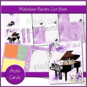 Melodious Flowers List Book