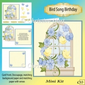 Bird Song Birthday Mini Kit