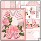 Peach Summer Rose PDF Cameo Pyramage Download