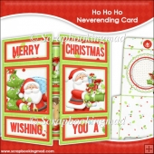 Ho Ho Ho Neverending Card & Envelope