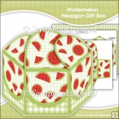 Watermelon Hexagon Gift Box