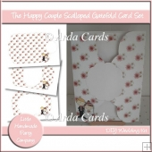 The Happy Couple Scalloped Gatefold Card Set