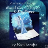 Celestial Fairy Easel Card Topper