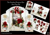 Free Standing Christmas Rose Mini Page Kit