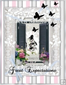 Great Expectations Kitty Collage for Cards, Crafts, Journals