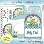 Crocs In Love - Arched Card Kit