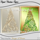 Elegant Christmas Toppers