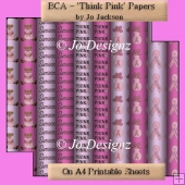 Breast Cancer Awareness 'Think Pink' 10 Papers