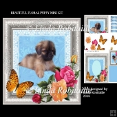 Beautiful Floral Puppy Mini Kit
