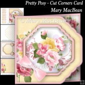 Pretty Posy - Cut Corners Card