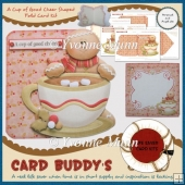 A Cup of Good Cheer Shaped Fold Card Kit
