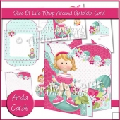 Slice Of Life Wrap Around Gatefold Card