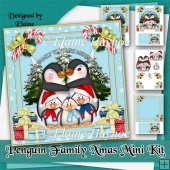 Penguin Family Christmas Mini Kit