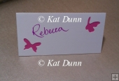 Cherry Blossom Wedding Collection - Place Cards Cutting File