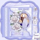 Wedding Day at Sunset 8x8 Decoupage Kit
