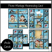 Pirate Monkey Neverending Card