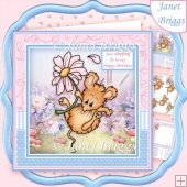 DAISY DROP All Occasions 8x8 Decoupage & Insert Kit