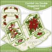 Comfort Joy Double Staggered Easel Card