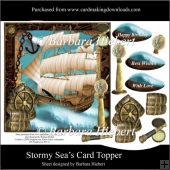 Stormy Sea's Card Topper