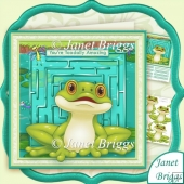 You're Toadally Amazing Humorous 8x8 Kit