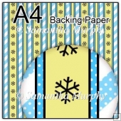 ref1_bp680 - Blue Yellow Dots & Stripes & Snowflakes