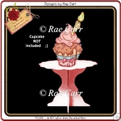 671 Cupcake Stand 1 *Multiple MACHINE Formats*