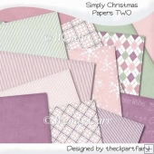 Simply Christmas Papers 2(Retiring in August)