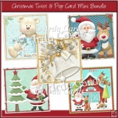 Christmas Twist & Pop Card Mini Bundle