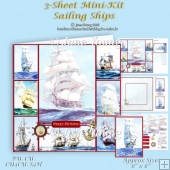 Sailing Ships 3-Sheet Mini-Kit