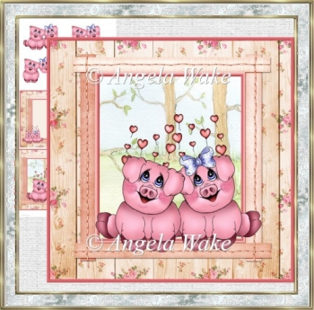 Piggies in love