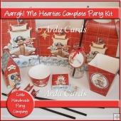 Aarrgh! Me Hearties Complete Party Kit