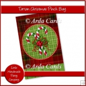 Tartan Christmas Pinch Bag
