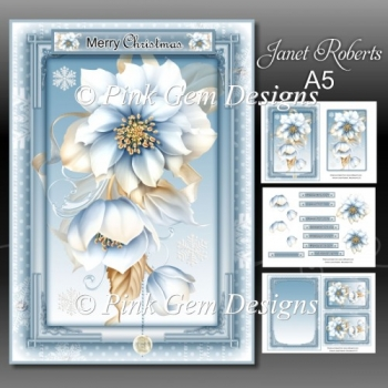 Frosted Floral Mini Kit