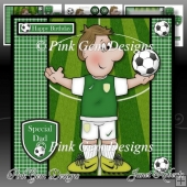 Football Crazy Green Mini Kit Birthday/Fathers Day