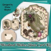 Woodland Wishes Skate Card Kit