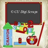 Back 2 School Clipart Collection