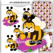 Busy Little Bee Decoupage Set