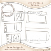 Mum Word Book Template Commercial Use