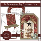 In The Birdhouse Pop Out Banner Card