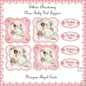 ETHNIC NEW BABY CHRISTENING TOPPERS