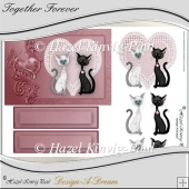 Together Forever Decoupage Card Front
