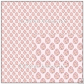 Easter Eggs Pink Backing Paper