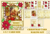 Christmas Mouse Cute Card 1 5 x 7