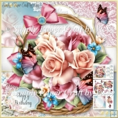 Flower Basket 24