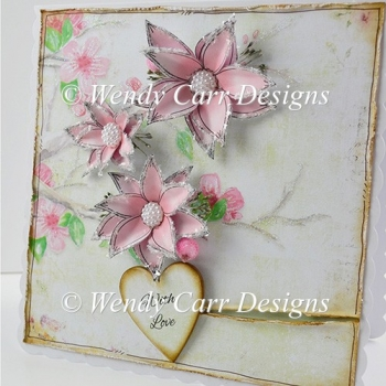 BRANCH OF FLOWERS CARD
