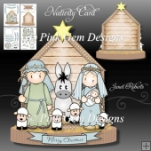 Nativity Card Mini Kit
