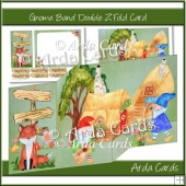 Gnome Band Z Fold Card